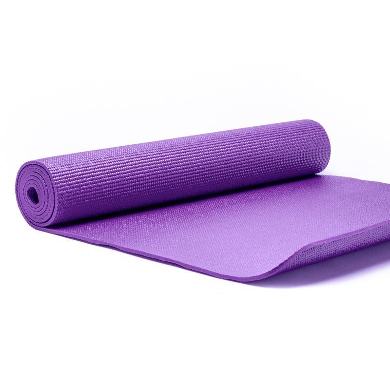 Yogi /& Yogini Yogamatte Jute Violett 1550 g; 63x185x0.5 c