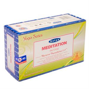 Incense Satya Nag Champa Meditation -- 15 g