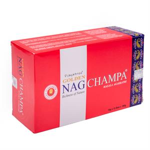 Incense Golden Nag Champa -- 15 g