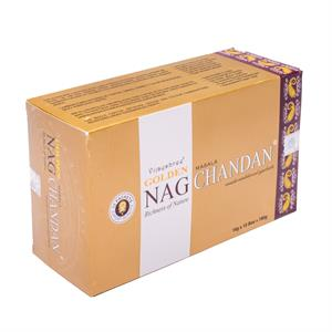 Incense Golden Nag Chandan -- 15 g