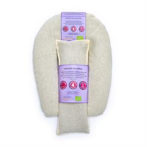 Eye and neck pillow organic lavender natural